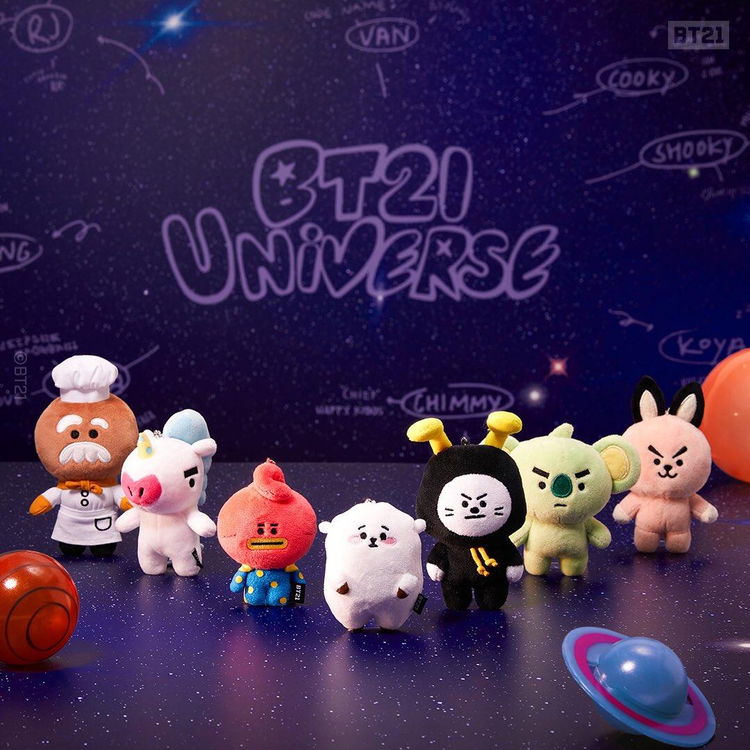 BT21 Universe Bagcharm Doll
