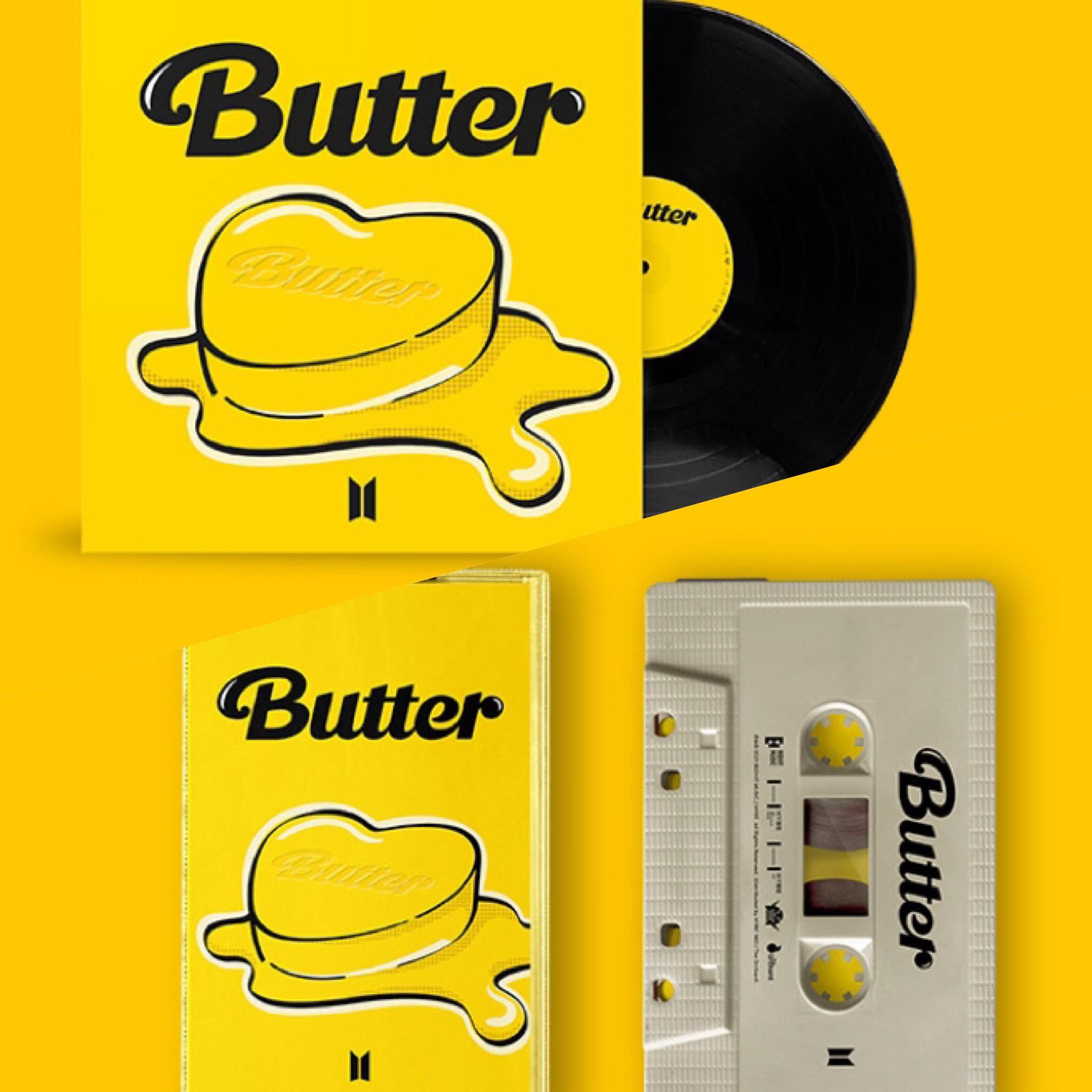 BTS Butter Vinyl / Cassette Tape