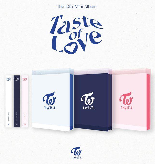 TWICE 10th Mini Album [Taste of Love]
