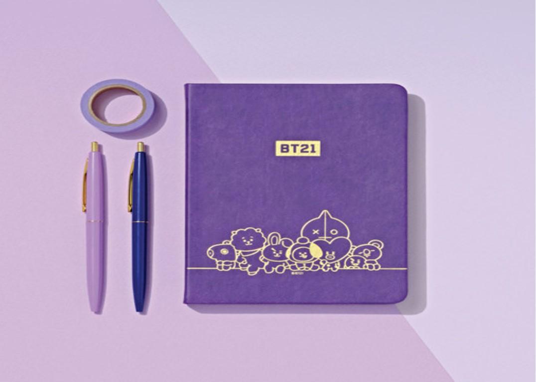 BT21 x Heuk Hwa Dang Diary Notebook