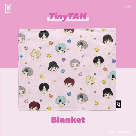 TinyTan x TIY Official Blankets
