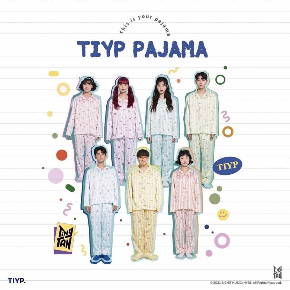 TinyTan x TIY Official Pajamas